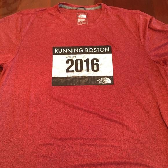 df6b2271e North Face Boston Marathon Shirt- Limited Edition